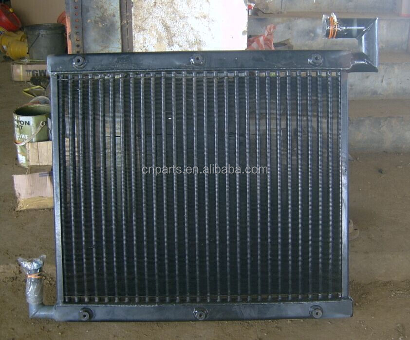 Hitachi EX120-5/EX120-1/EX120-3 Hydraulic oil cooler, excavator copper or aluminum Hydraulic oil cooler