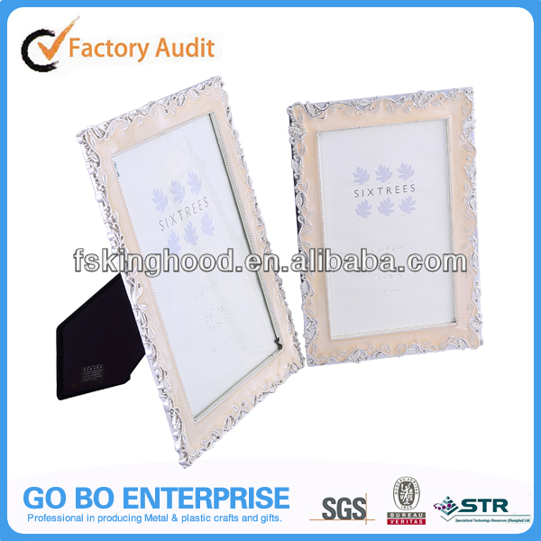 Home decorative engraved photo frame for wholesale