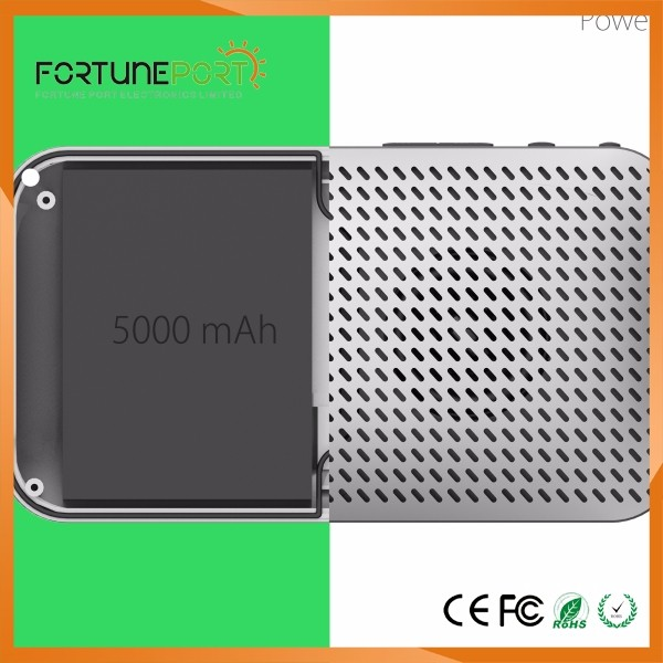 Bulk Cheap Solar Bluetooth Speaker Power Bank 5000 mah Li-ion Battery Super Quality Cellphone Charger for Smartphone