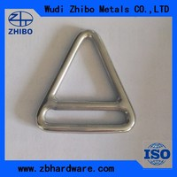 Stainless Steel Materal Rigging Hardware Triangle Ring with Cross Bar Manufacturer In China