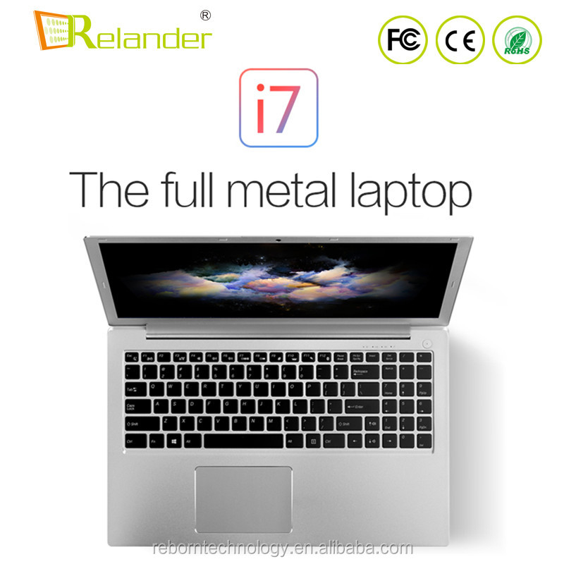 Wholesale 15.6'' Inch 2.5GHZ-3.1GHZ 8GB RAM 1TB ROM FHD Screen Intel Core i7 6500U Gaming <strong>Laptop</strong>