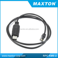 Maxton RPC-KM6-U with USB programming cable for Kenwood TK-768,TK-768G,TK-780,TK-780G,TK-805