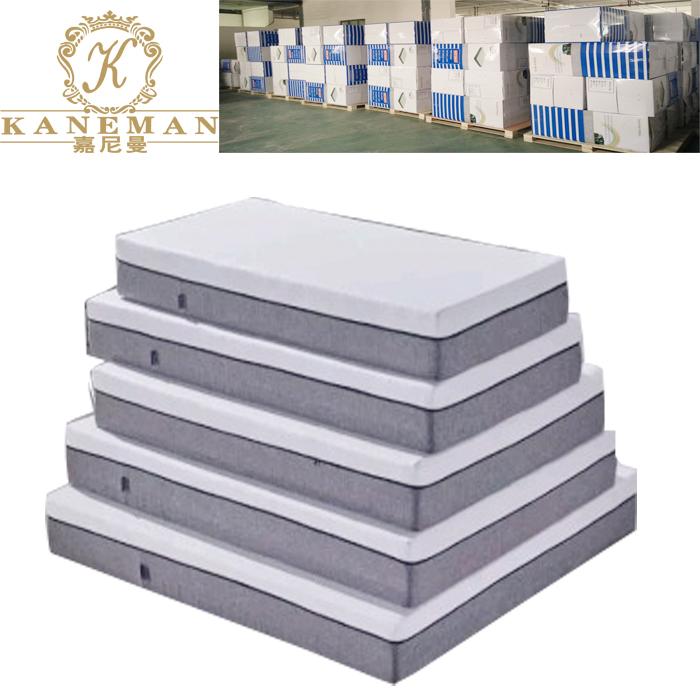 Luxury vacuum roll in color box cool sleeping gel memory foam mattress Customized - Jozy Mattress   Jozy.net