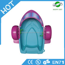 Exclusive Manufacturer Lowest Price Kids And Adults Hand Paddle Boat Plastic Boats For Water Play