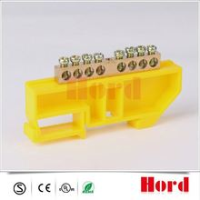 dinrails transformer brass terminal block