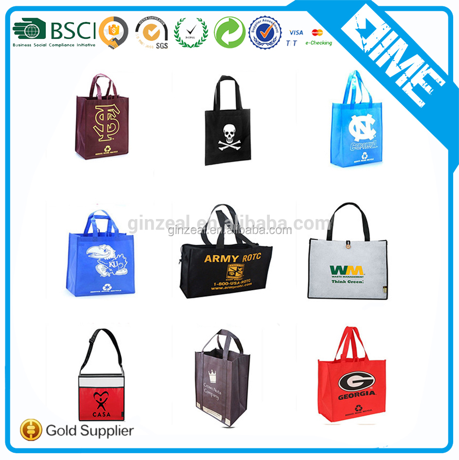 Promotional Eco Friendly Reusable Large Non-Woven Polypropylene Tote Bag