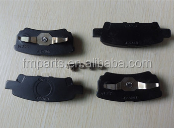 Japanese Auto Parts Disc Brake Pad For MITSUBISHI MZ690187