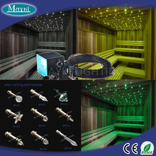EP-012 optical fiber fittings for sauna room using