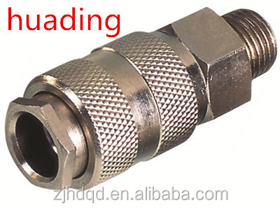"euro-universal type male coupler ,1/4"" 3/8"" 1/2"" brass coupler with high quality"