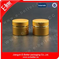 7ml gold gel nail polish aluminum jar