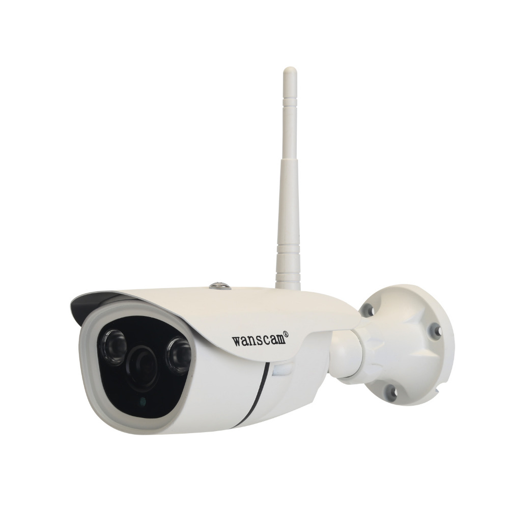 Wanscam 1.3MP Mini POE 16G TF Card Back view P2P Wireless CCTV IP Camera