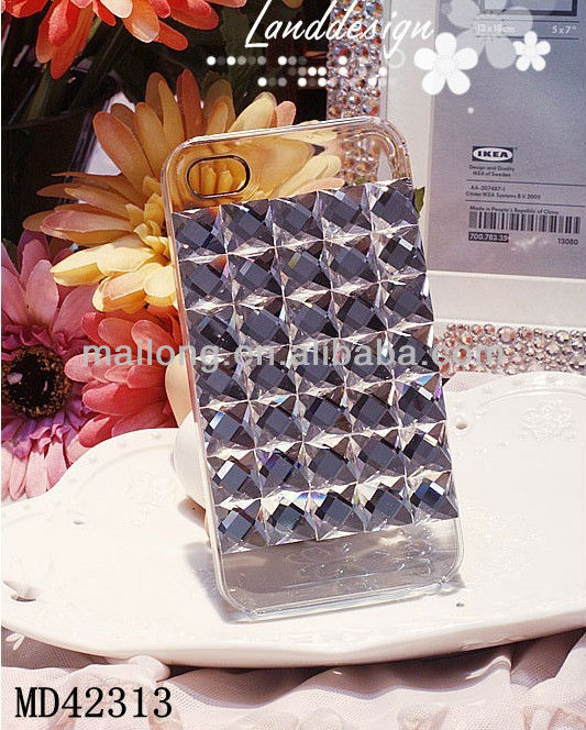 Fashion Luxury crystal phone cases for iphone4/4s/5