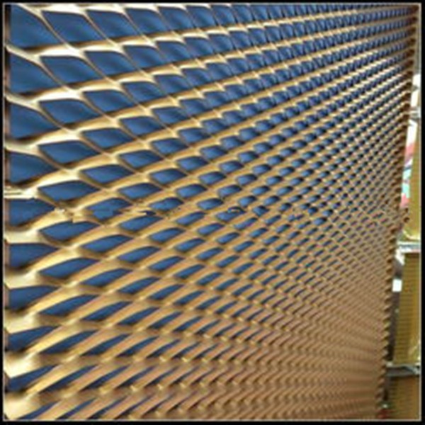 wallpapwe decoration aluminium expanded metal wire mesh modern hous design