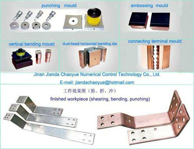 busbar cutting bending punching machine with good price