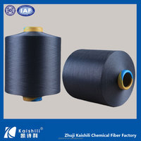 AA grade spandex yarn China Best Price 2075/3075/4075 knitting/weaving yarn for maternity clothes Spandex Covered Polyester Yarn