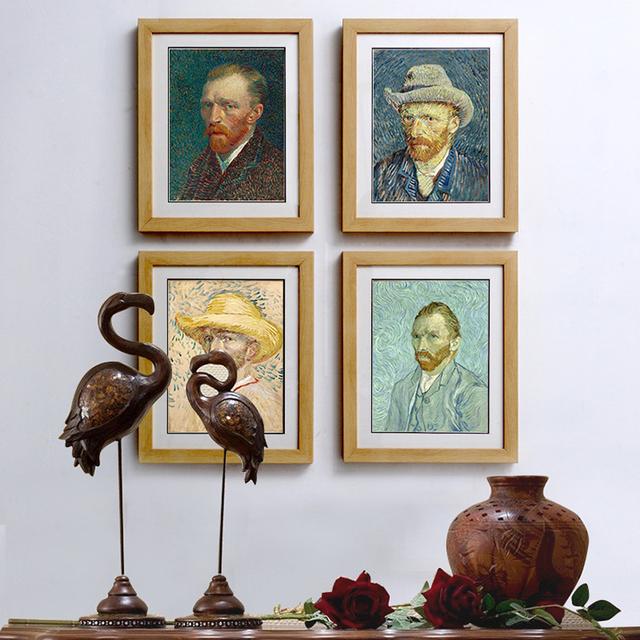 Van gogh Decorative Design Paper Photo Frames 25*20 Gallery Picture Frames Wholesale