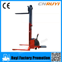 Hot sale in europe 3.5m lifting electric stacker