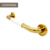 Bathroom accessories 304 Stainless steel PVD plated gold grab bars