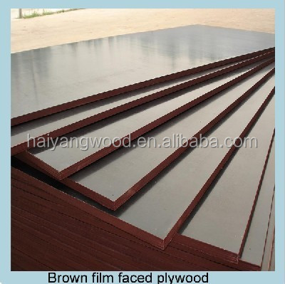 20mm brown finger joint anti slip film faced plywood construction use