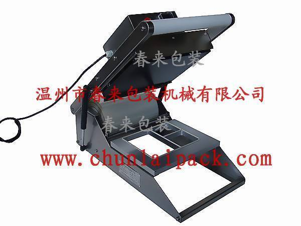 2015 hot sale high quality HS-300 manual tray sealing machine manual sealer