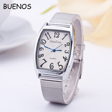 Geneva High Quality Elegance Gold Stainless Steel Case Back Ladies Quartz Watch