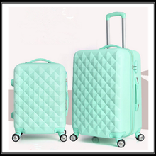 Diamond stone universal wheel rolling luggage bags&cases
