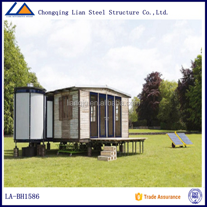 Solar Power Vocation Prefabricated Mobile Container House
