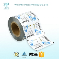 automatical packing laminating roll film