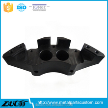 CNC machined clear natural anodized aluminum parts
