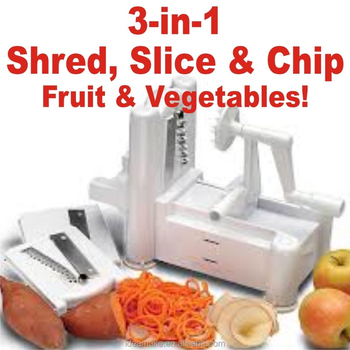 Spiral Slicer As Seen On tv new 2015 Spirooli Vegetable Slicer