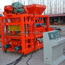 QT4-25 Hollow Block Making Machine Building Wall Brick Molding Machine
