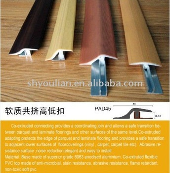 Pvc Tile Trim Profiles Of Flooring Vinyl Floor Reducer