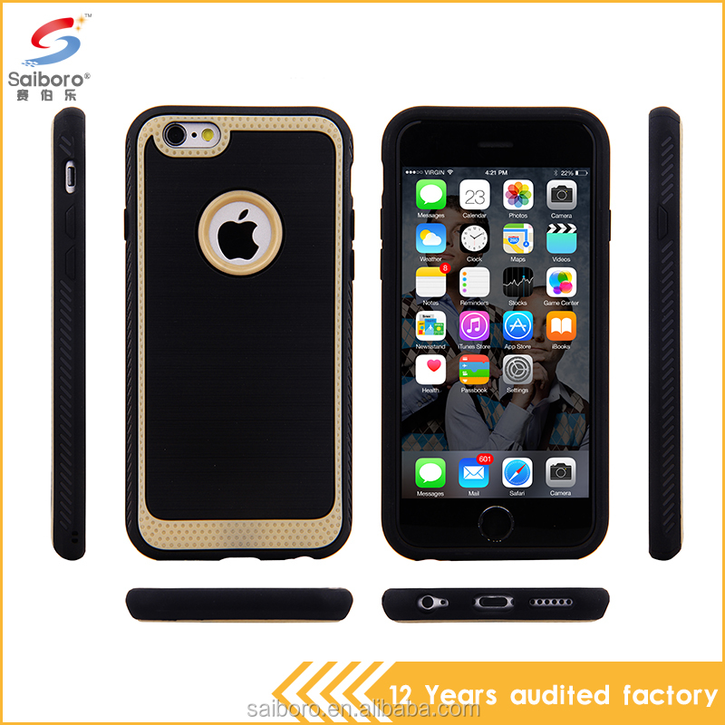 Electronics consumer wholesale cell phone case brushed tpu case for iPhone 6/6S