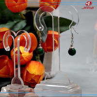 Alibaba china clear acrylic Y shape hanging earring display holder