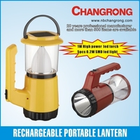 china supplier led solar camping lantern with torch low price