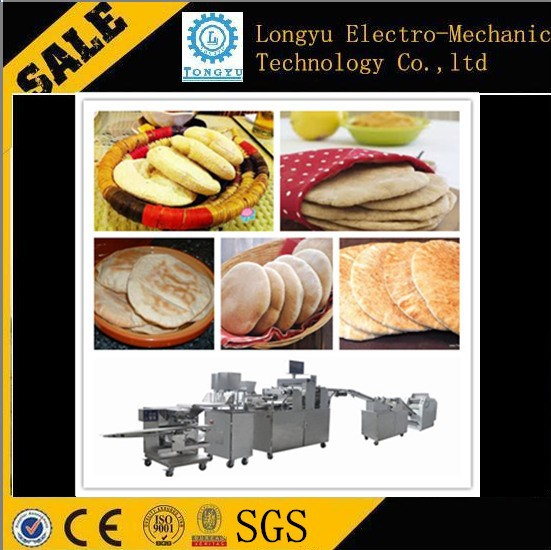 Best quality low price lebanese pita bread manufacturing line