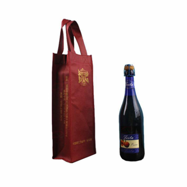 Hot Sale Cotton wine ice bag With Bottom Price