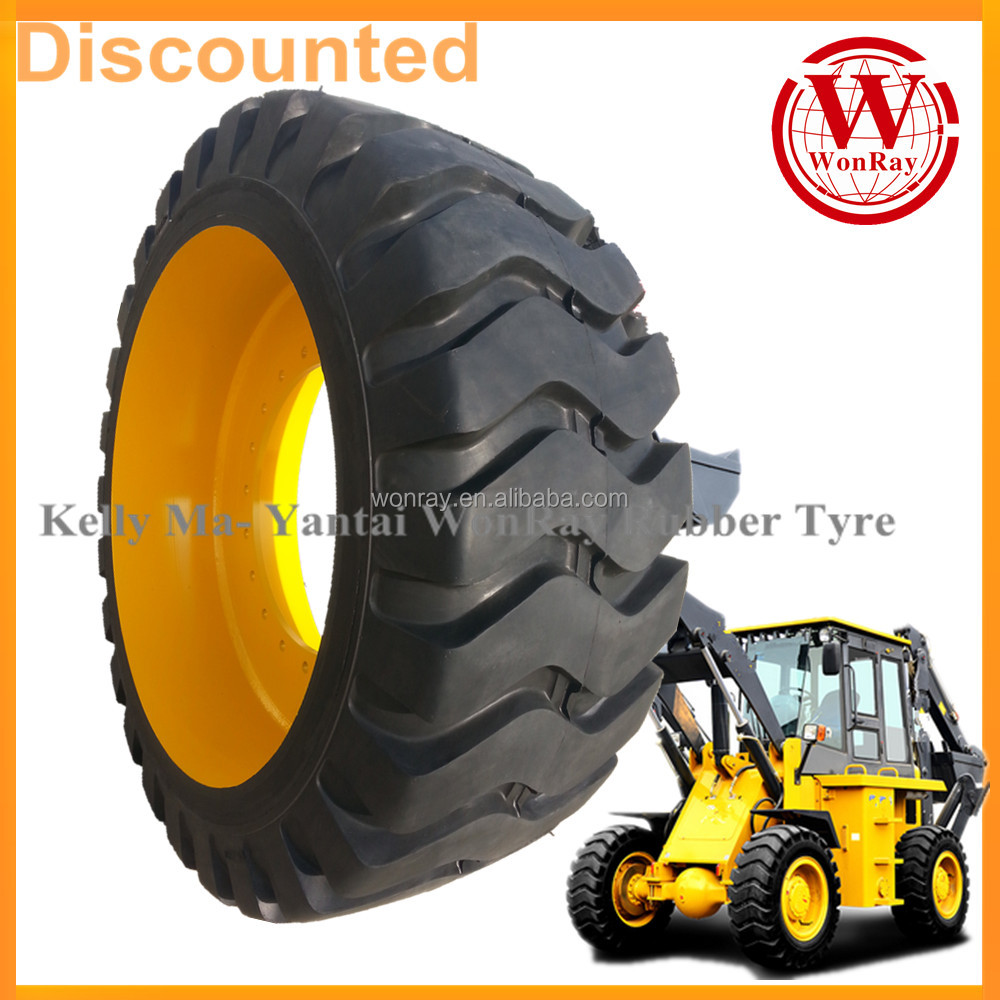 china cheap front wheel loader parts otr solid tires 23.5-25 17.5r25 23.5x25 for sale