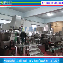 Industries yogurt and cheese making machines vacuum emulsifying homogenizer mixing machine