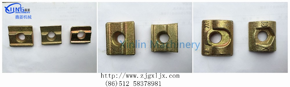 elevator clips for elevator guide rail T89(13K)
