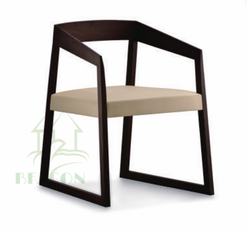 high quality milano solid wood dining chair