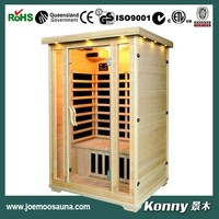 new wood indoor far infrared home sauna KL-200C-H