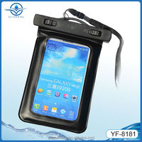 pvc waterproof cellphone phone bag for iphone 6 plus