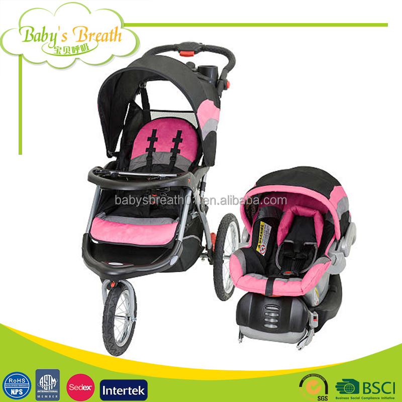 BS-150 Folding Portable Stroller Mother Like Baby Doll Stroller Bike Pram with Car Seat