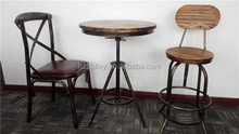 Wholesale steel bar stool chairs, hotel bar stools, restaurant bar chairs with footrest