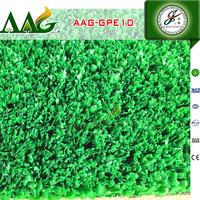 CE/ISO/WSC/CTA certifcated artificial grass for tennis court,2016 new style ,best selling double gluten yarn
