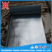 Self adhesive waterproof membrane for bathroom floors