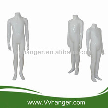WKTQ03 Fiberglass standing headless child mannequin/ boy mannequin