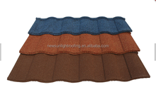 hot sell stone coated metal roof tile in Caribbean Sea country