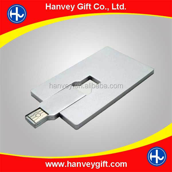 Promotional Custom Logo usb Card, 100% Real Capacity Credit Card usb 2.0, Cheapest Factory Price Business Card usb Flash Drive